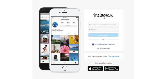 Supprimer définitivement son compte signifie que l'on ne peut plus retourner sur Instagram sans créer un nouveau compte