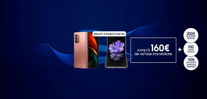 Offres inédites sur les smartphones pliables Samsung 🔥