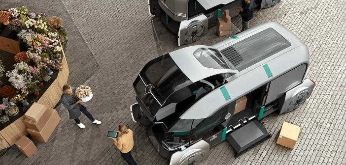 concept de voiture autonome Renault EZ-PRO