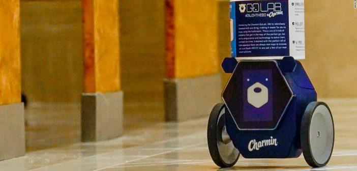 RollBot robot intelligent papier toilette