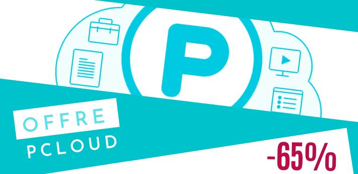 Bon plan pCloud promo