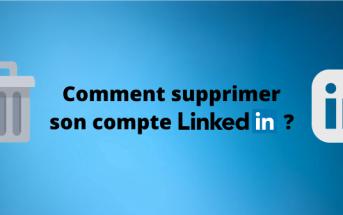 supprimer compte LinkedIn