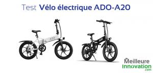 Test vélo électrique ADO-A20