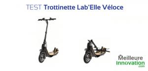 Test trottinette électrique Lab'elle véloce airlab