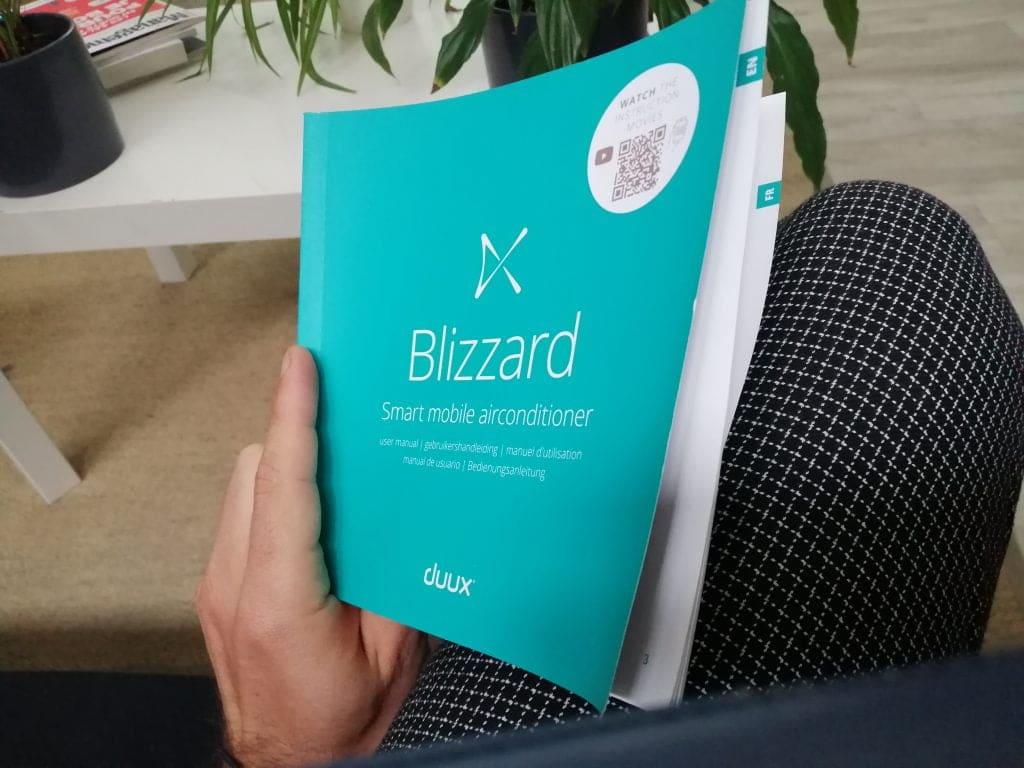 Guide d'utilisation climatiseur Blizzard