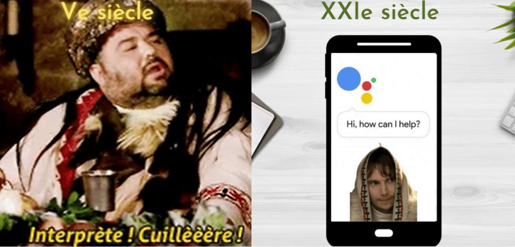 Mode interprète de Google Assistant