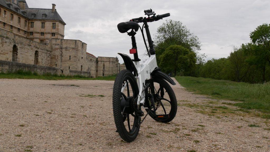 arrière du vélo électrique ado a20