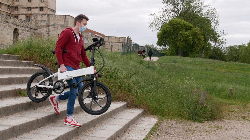 vélo électrique ado-a20 porté