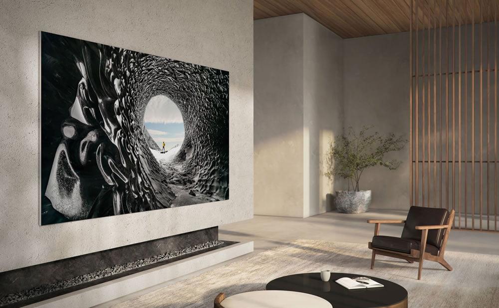 Samsung Micro Led téléviseur