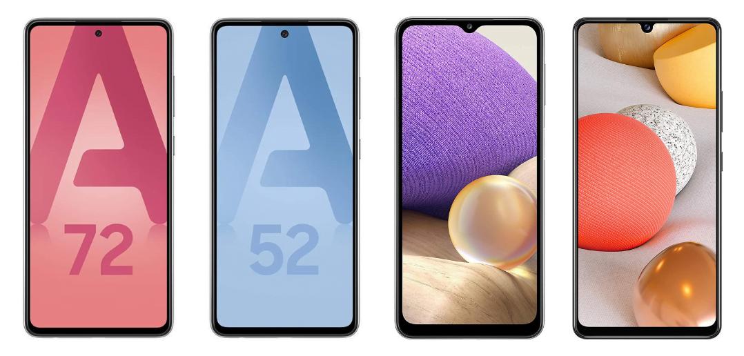 Smartphone samsung gamme Galaxy A