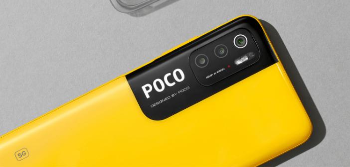 couleur jaune POCO du M3 pro