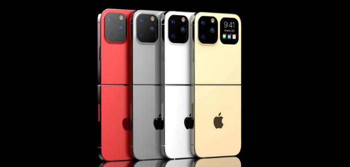 concept 3D lets'go digital coloris smartphone pliable IPhone Flip