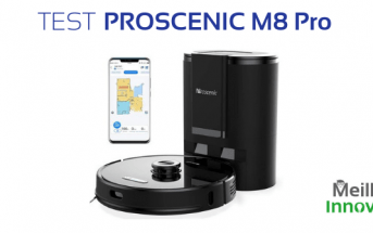 Test du Proscenic M8 Pro