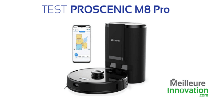 Test aspirateur-robot Proscenic M8 Pro