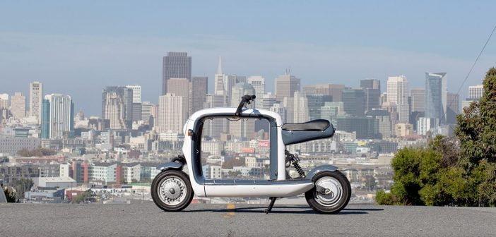 Lit motor avec Kubo scooter léger et pliable