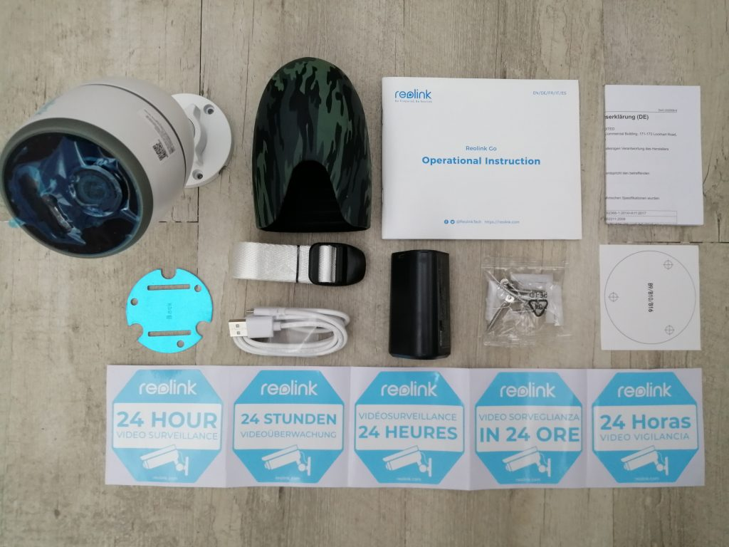 Accessoires Reolink Go