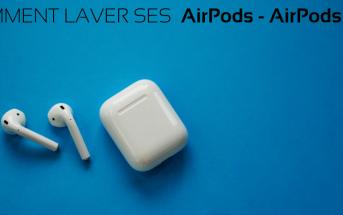 nettoyer et Laver AirPods