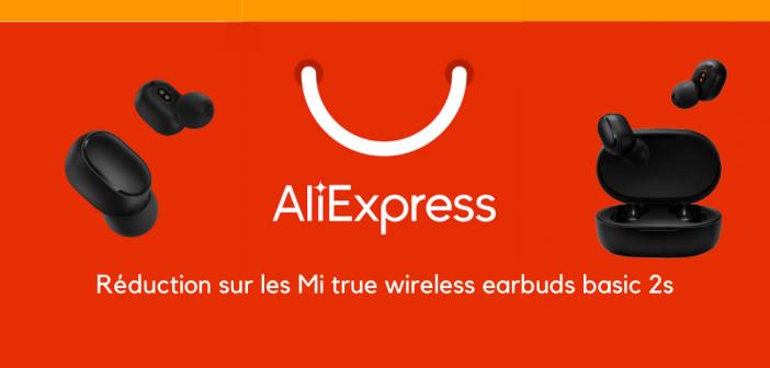 bon plan Mi true wireless earbuds basic 2spromo aliexpress