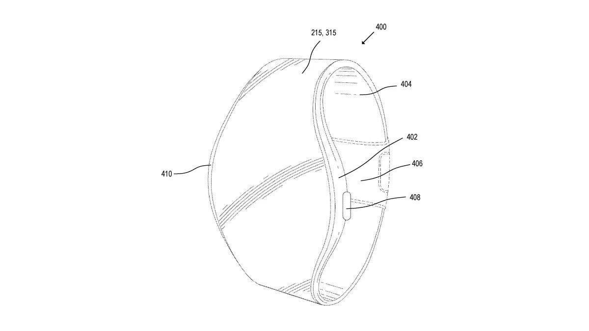 brevet de montre connecté à écran flexible déposé par Apple