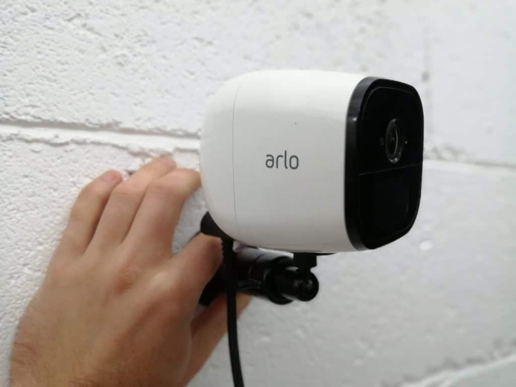 Arlo caméra de sécurité support mural