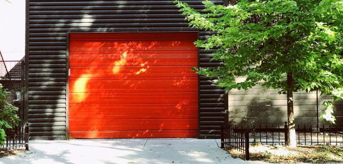 porte de garage design et esthétique