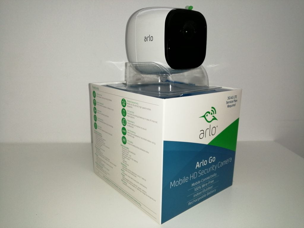 Caméra de surveillance Arlo package