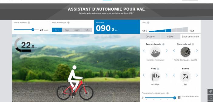 Bosch assistant d'autonomie pour VAE