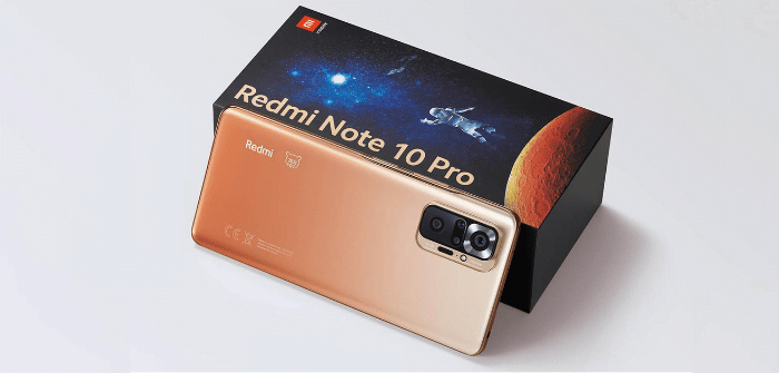 Smartphone xiaomi Redmi Note 10 pro