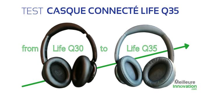 Test du casque audio connecté Anker Life Q35 : plus confort et plus sonore