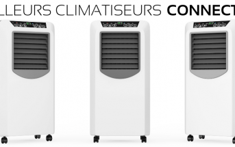 Climatiseur mobile connecté