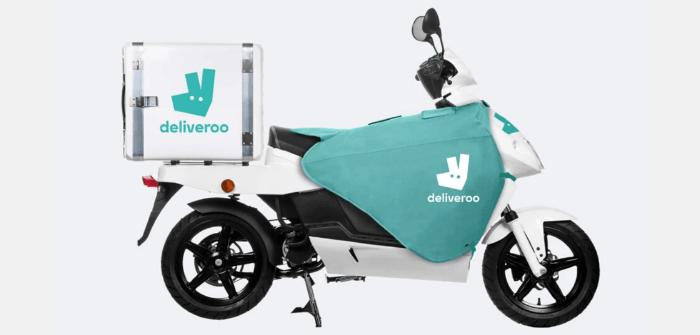 scooter électrique pour livraison deliveroo