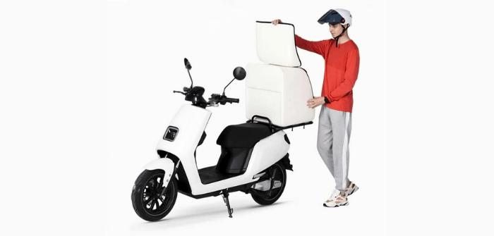 scooters électriques cargo LVNENG