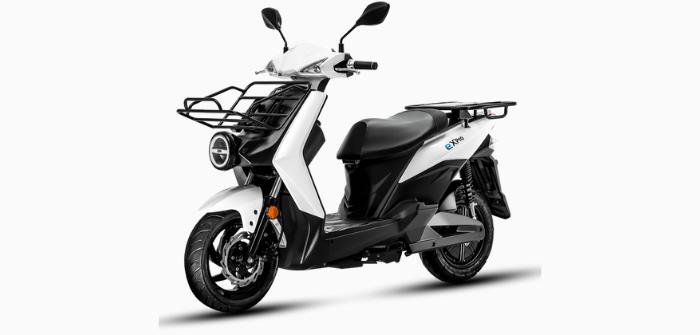 SYM E X Pro scooter électrique top case