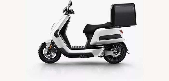 Niu NQi Cargo scooter électrique connecté moteur bosch