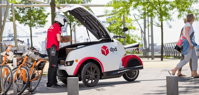 Trilp concept scooter 3 roues