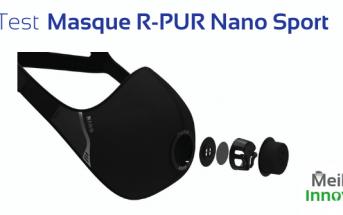 test masque sportif R-Pur nano sport