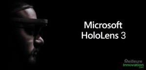 hololens 3 casque lunette AR microsoft