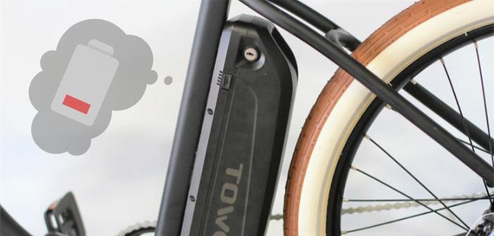 durée de vie d'une batterie de vélo électrique