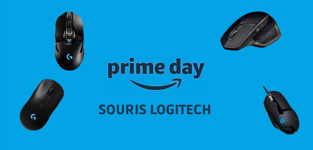 Amazon prime days : 7 souris Logitech à prix cassé
