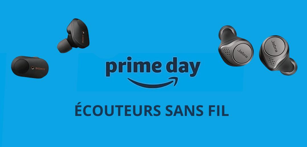 Top des meilleurs bons plans Amazon Prime Days pour les écouteurs sans fil