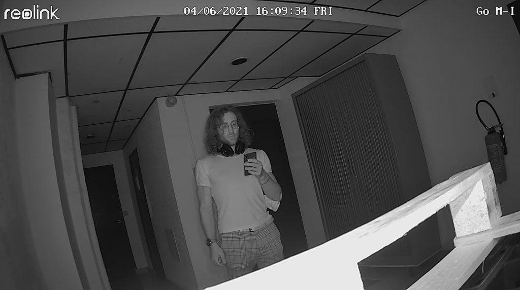 infrarouge loin caméra de surveillance
