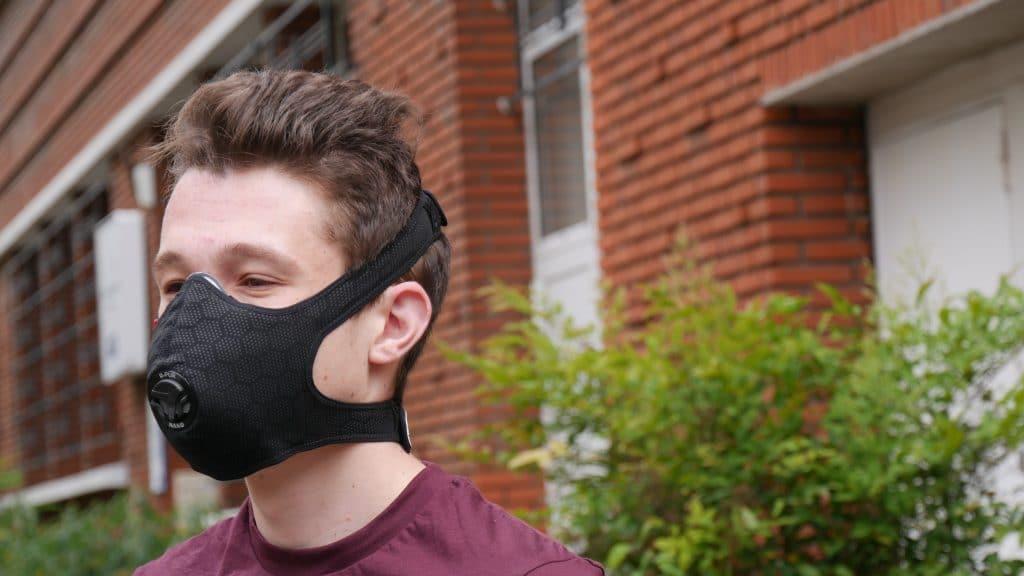 Masque R-PUR Nano Light porté