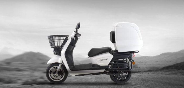 scooter électrique pour livraison Sunra Cagoo