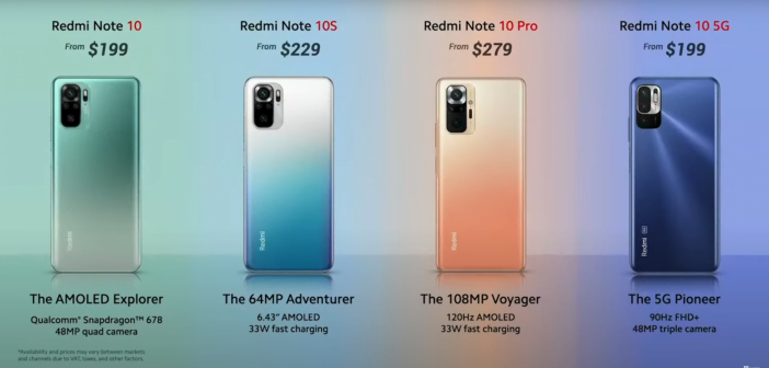gamme redmi de Xiaomi smartphone