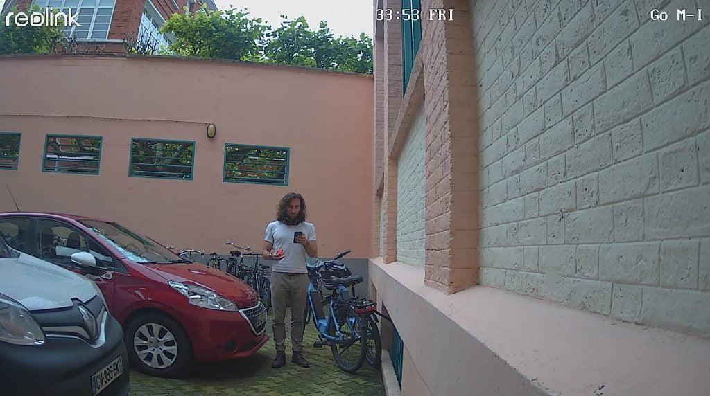 reolink caméra de surveillance extérieur hd