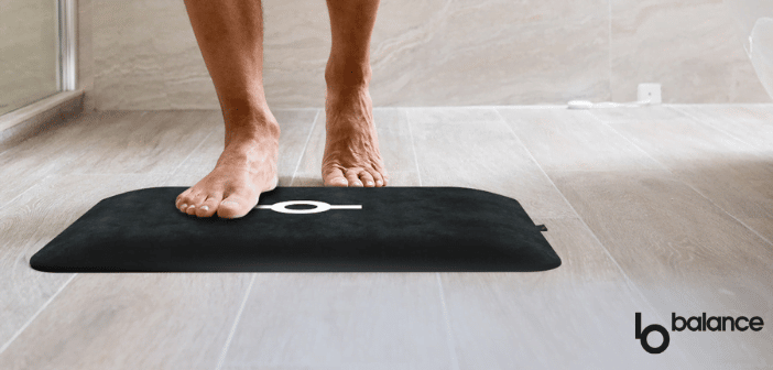 tapis de bain connectée bbalance