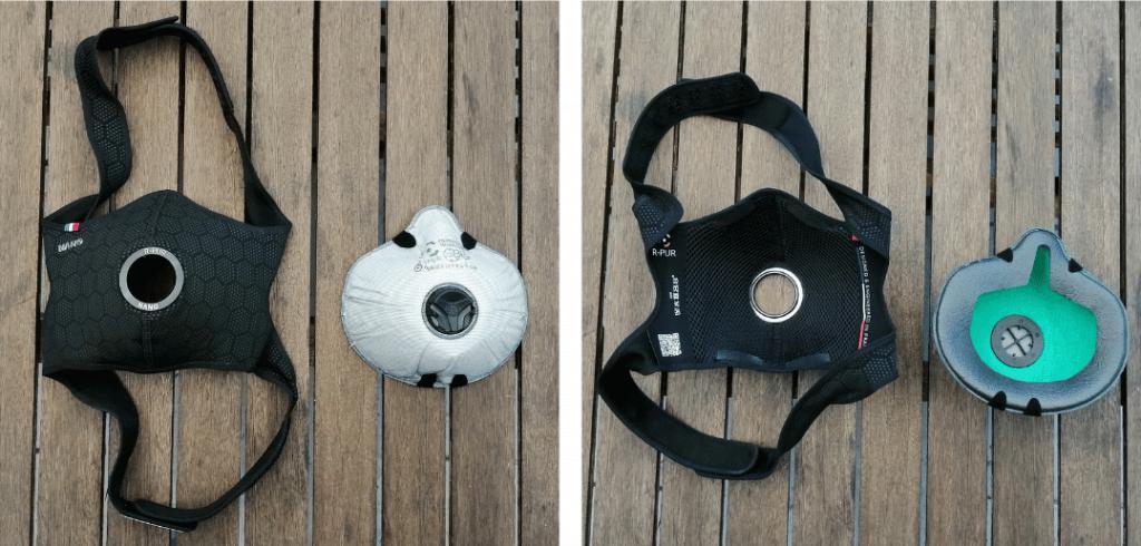 masque r-pur nano light séparé de son filtre