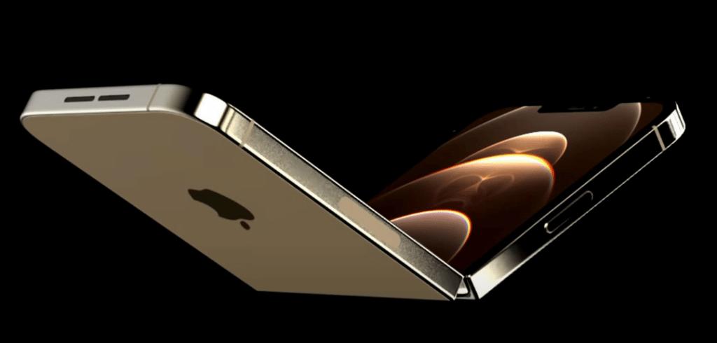 concept 3d d'un iPhone pliable