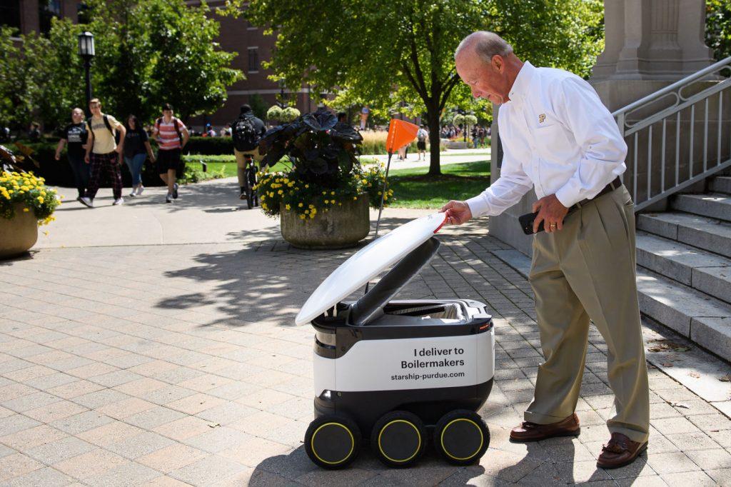 Starship Robot Livraison à domicile