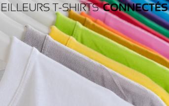 T-shirts connectés